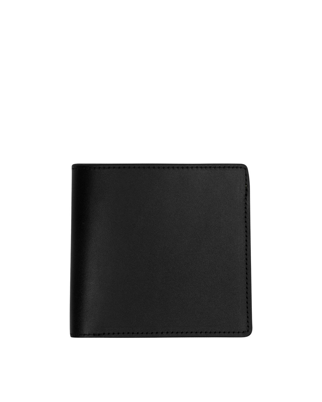 Photo: Kapital Leather Rain Smile Wallet Black