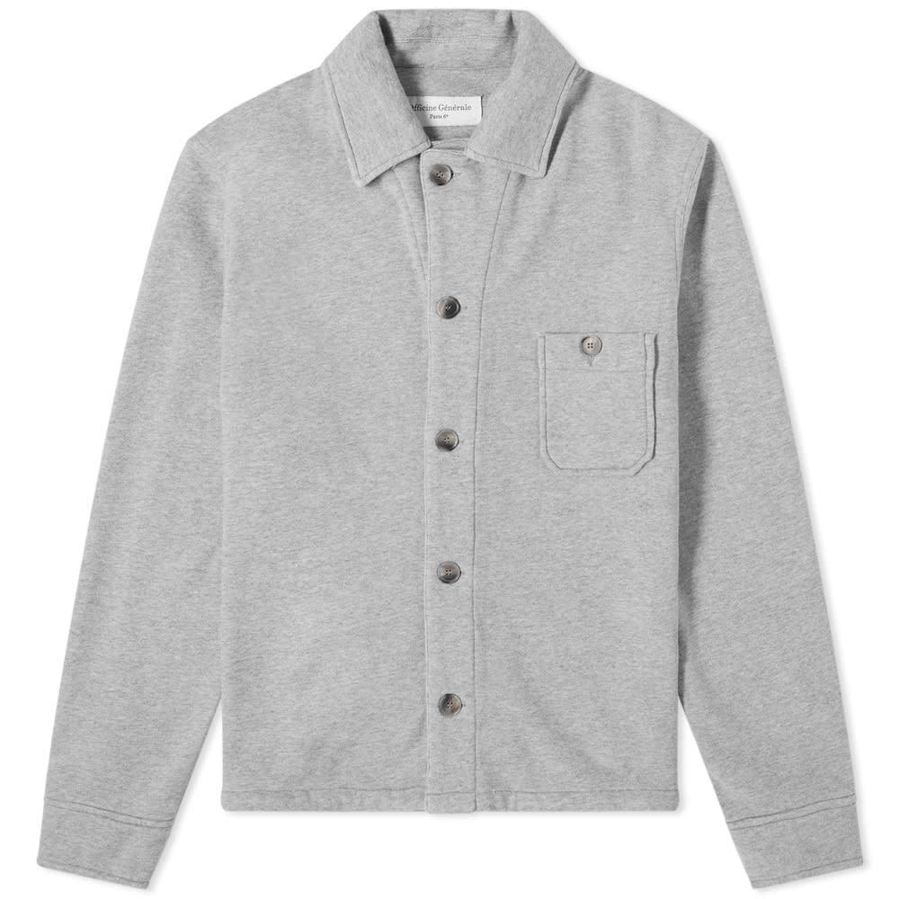 Photo: Officine Generale Sydney Japanese Cotton Overshirt