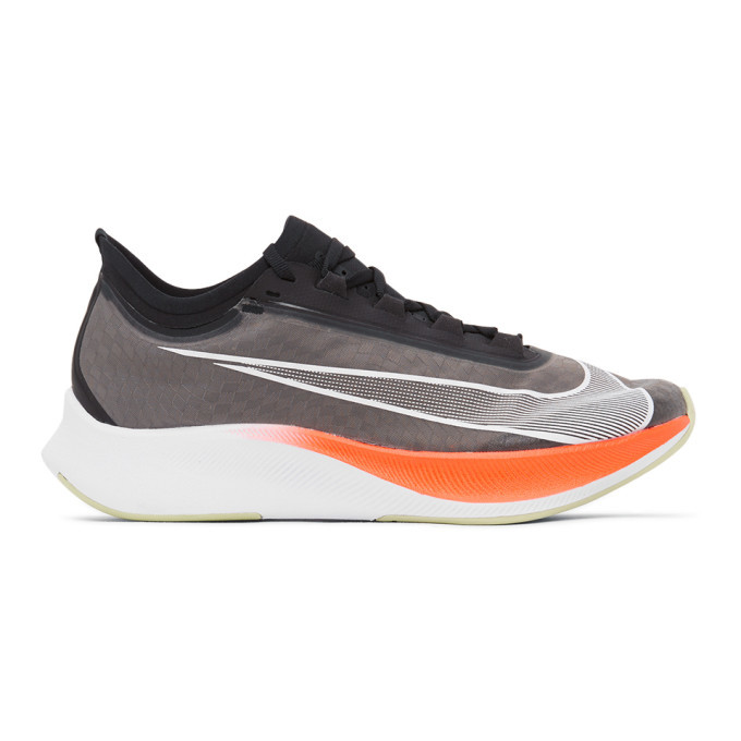 Photo: Nike Grey Zoom Fly 3 Sneakers