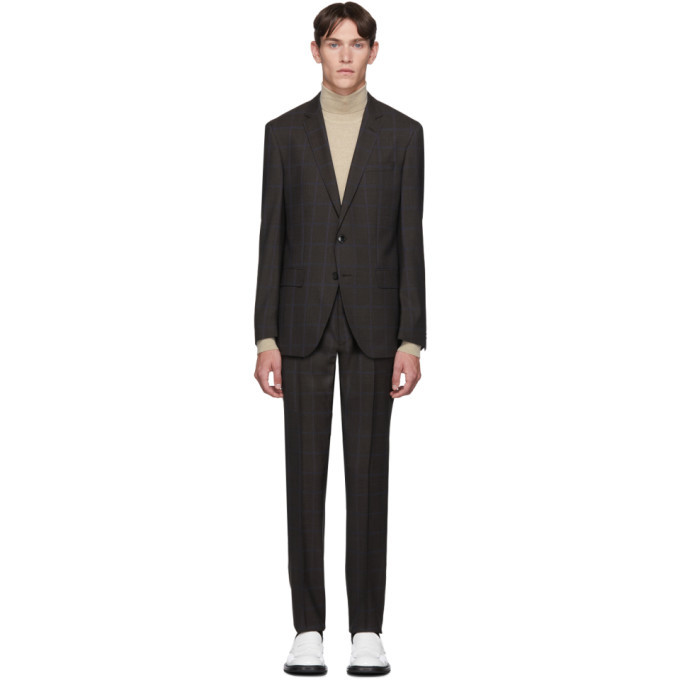 Photo: Boss Grey Window Pane Suit