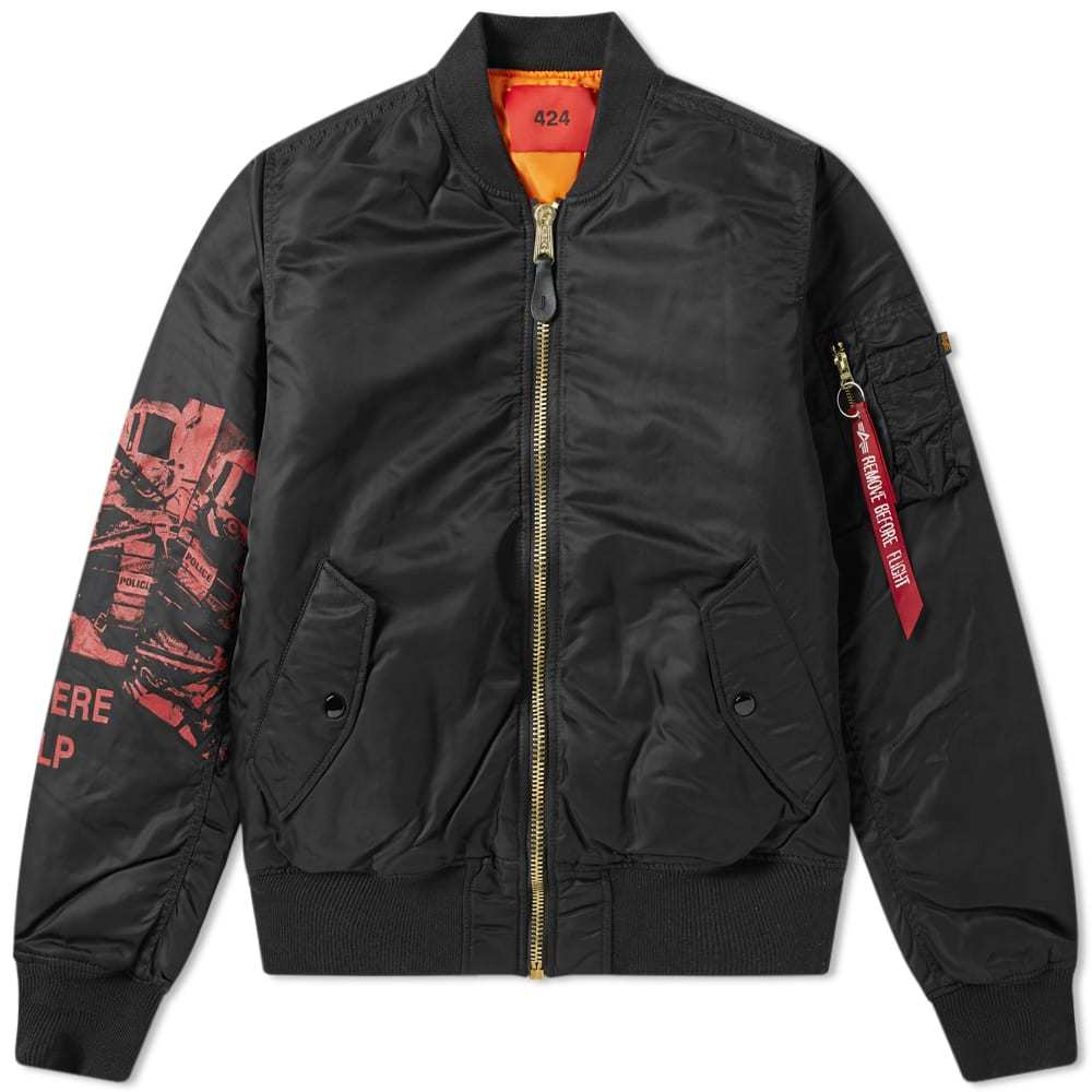 Photo: 424 x Alpha Industries Bomber Jacket