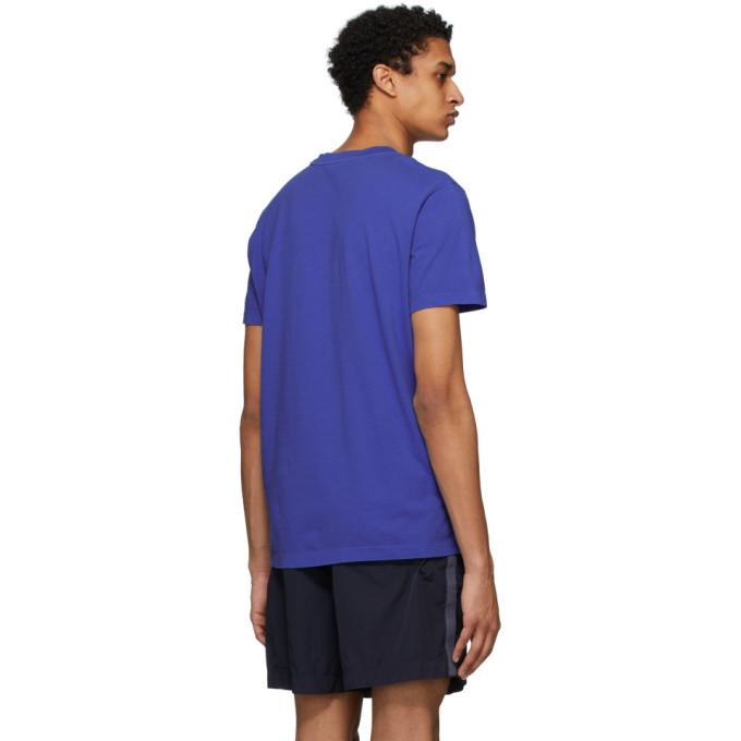 Moncler Navy Cotton T-Shirt