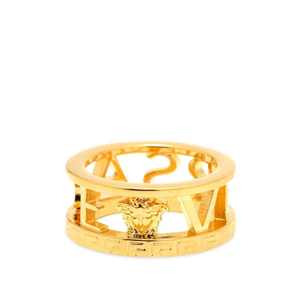 Photo: Versace Logo Ring