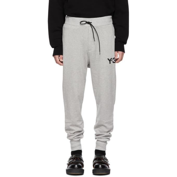 Y-3 Grey Classic Cuff Lounge Pants