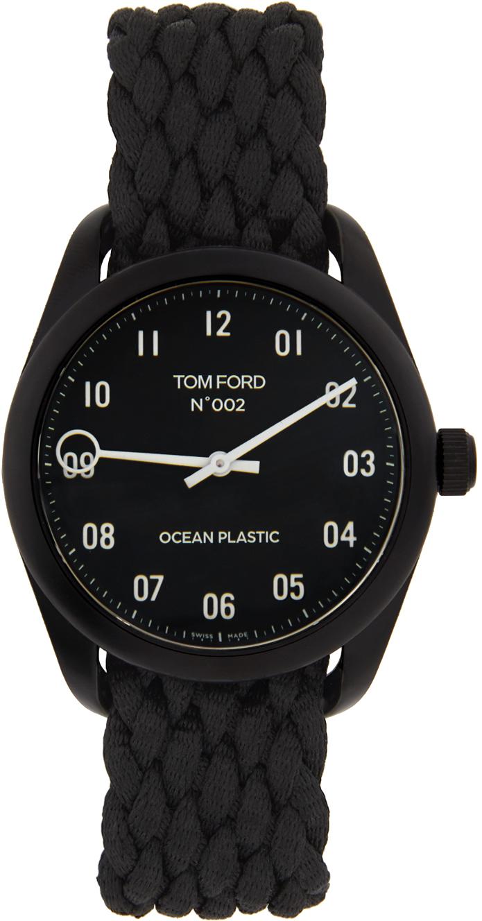 Photo: TOM FORD Black Ocean Plastic 002 Watch