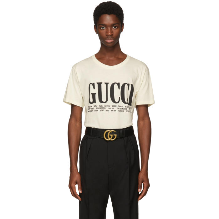 Photo: Gucci Off-White Gucci Cities T-Shirt