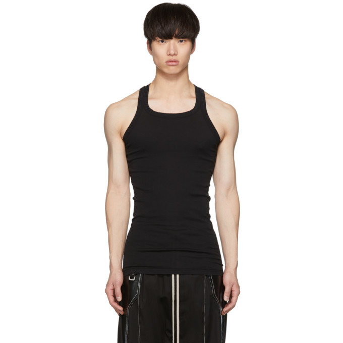 Photo: Rick Owens Drkshdw Black Rib Tank Top