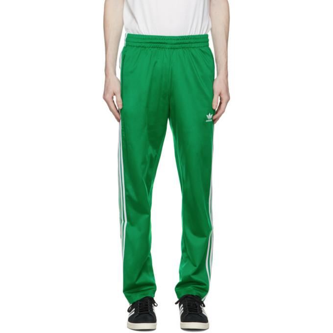 Photo: adidas Originals Green Adicolor Classics Firebird Track Pants