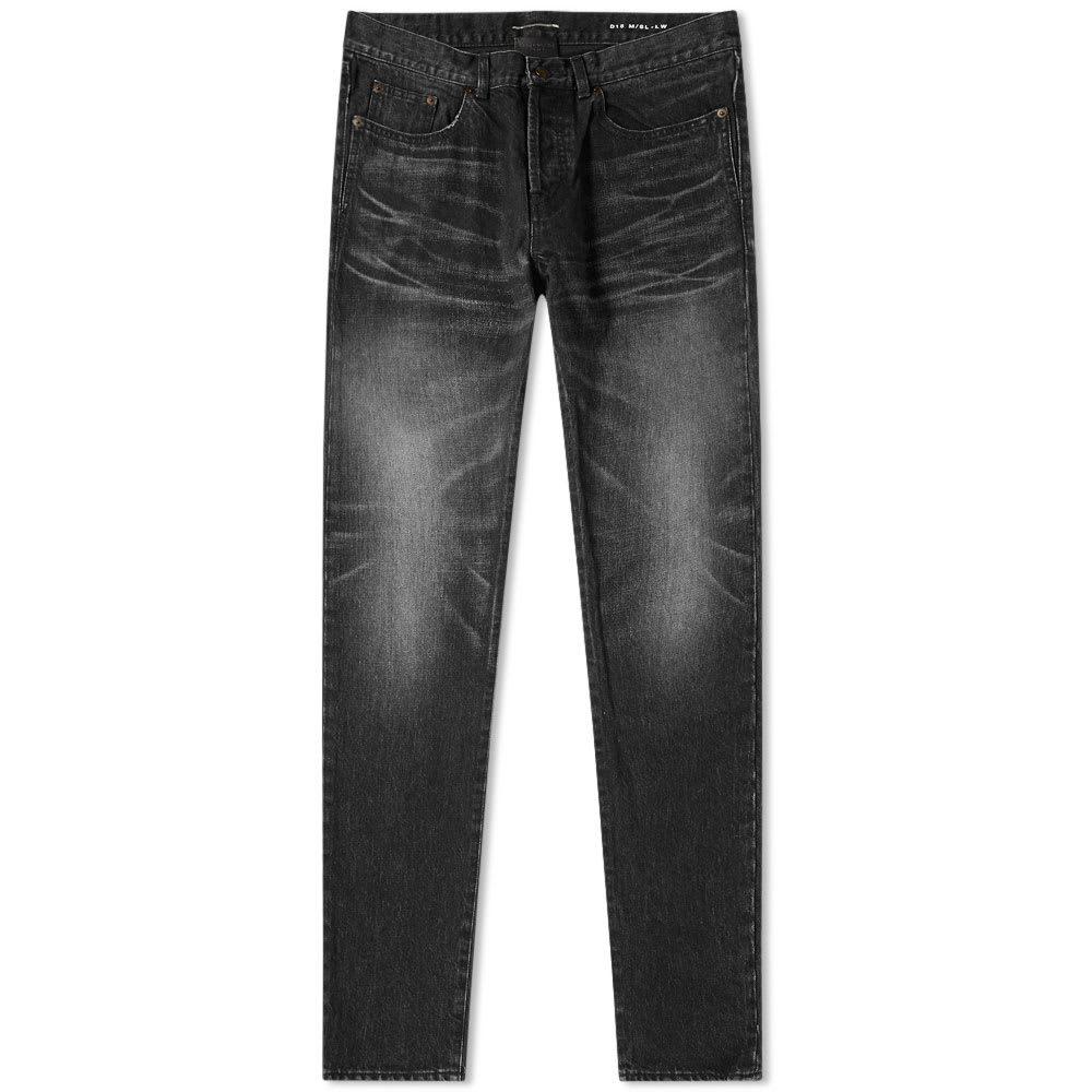 Photo: Saint Laurent 5 Years Washed Slim Fit Jean