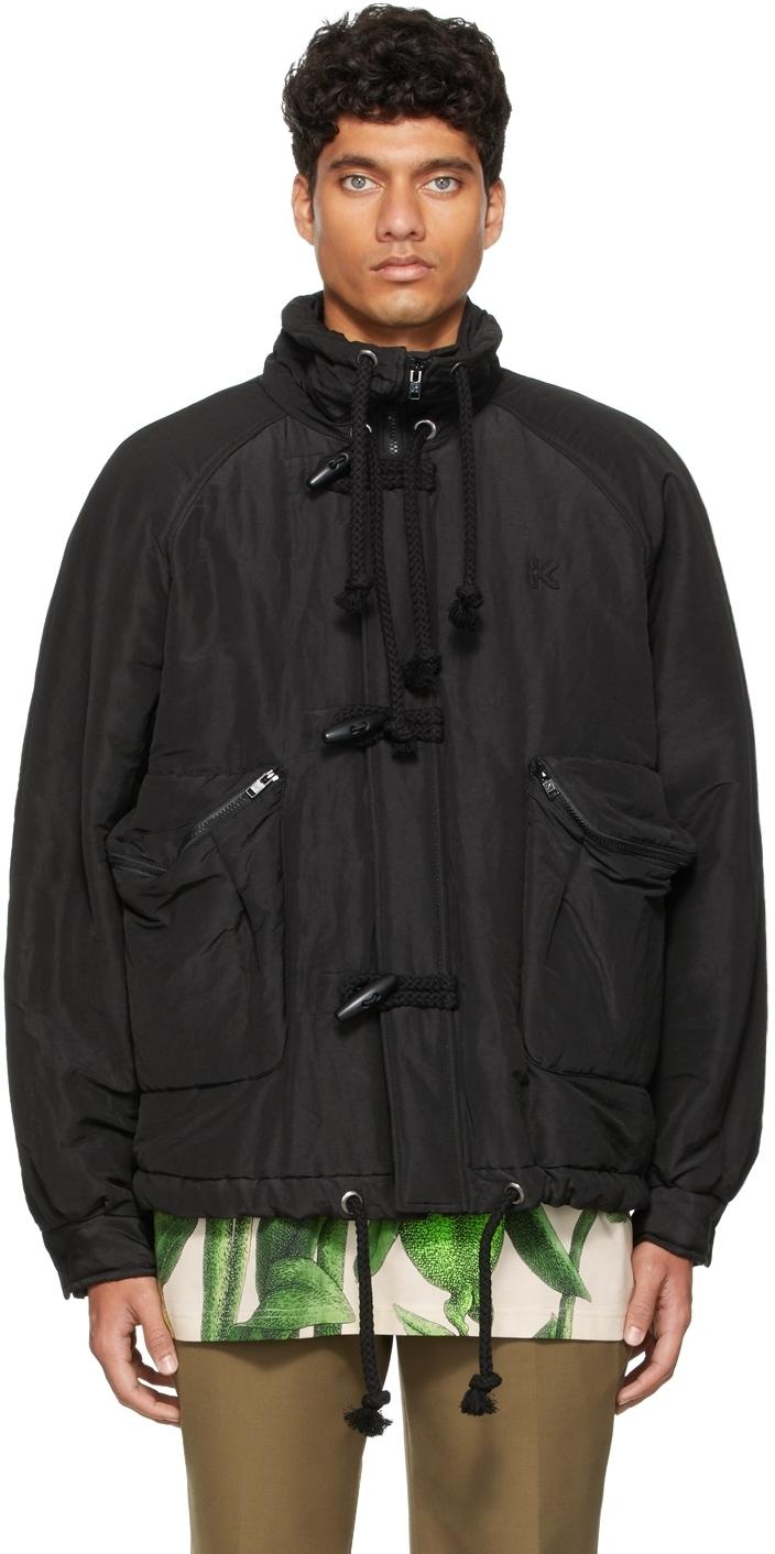 Photo: Kenzo Black Runway Parka Jacket