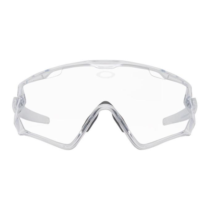 Oakley by Samuel Ross Clear Windjacket 2.0 Glasses