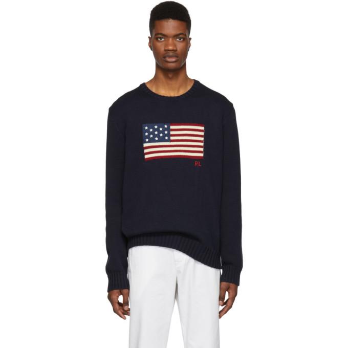 Photo: Polo Ralph Lauren Navy Knit Icon Sweater