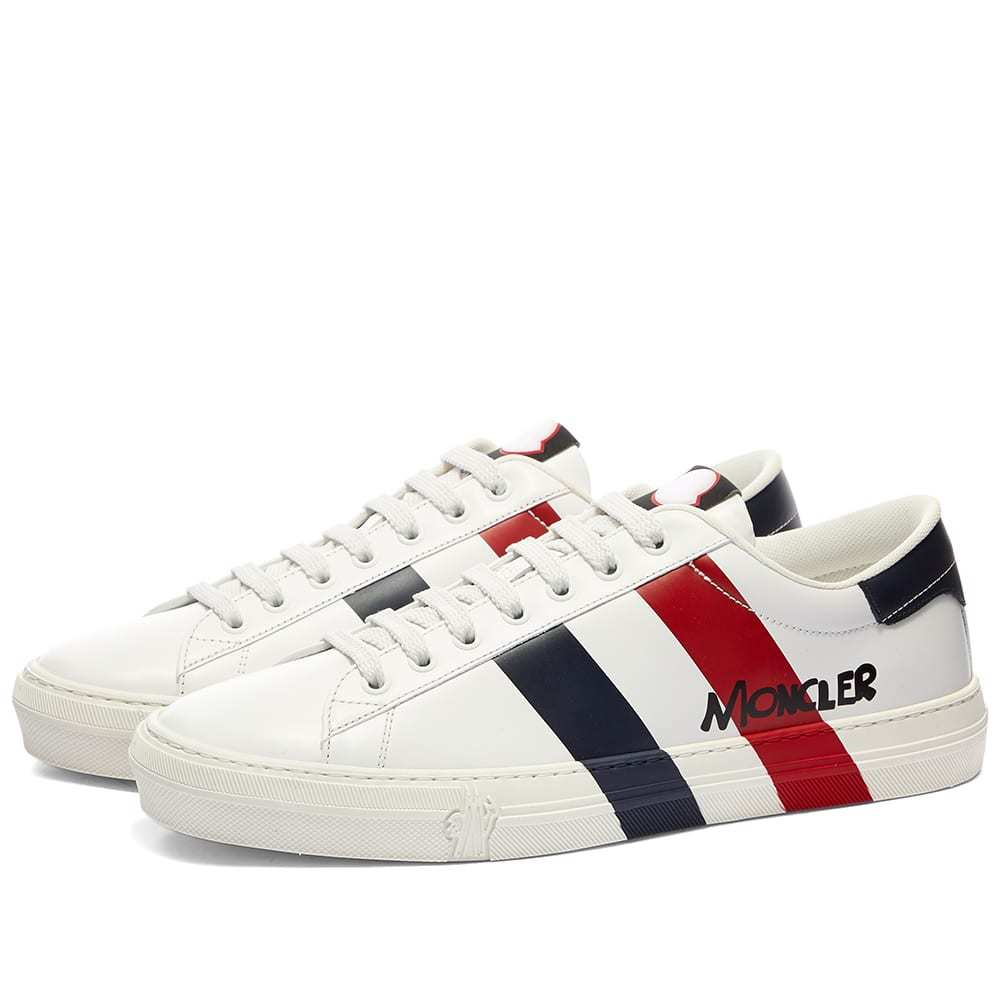 Photo: Moncler Montpellier Tricolour Stripe Sneaker