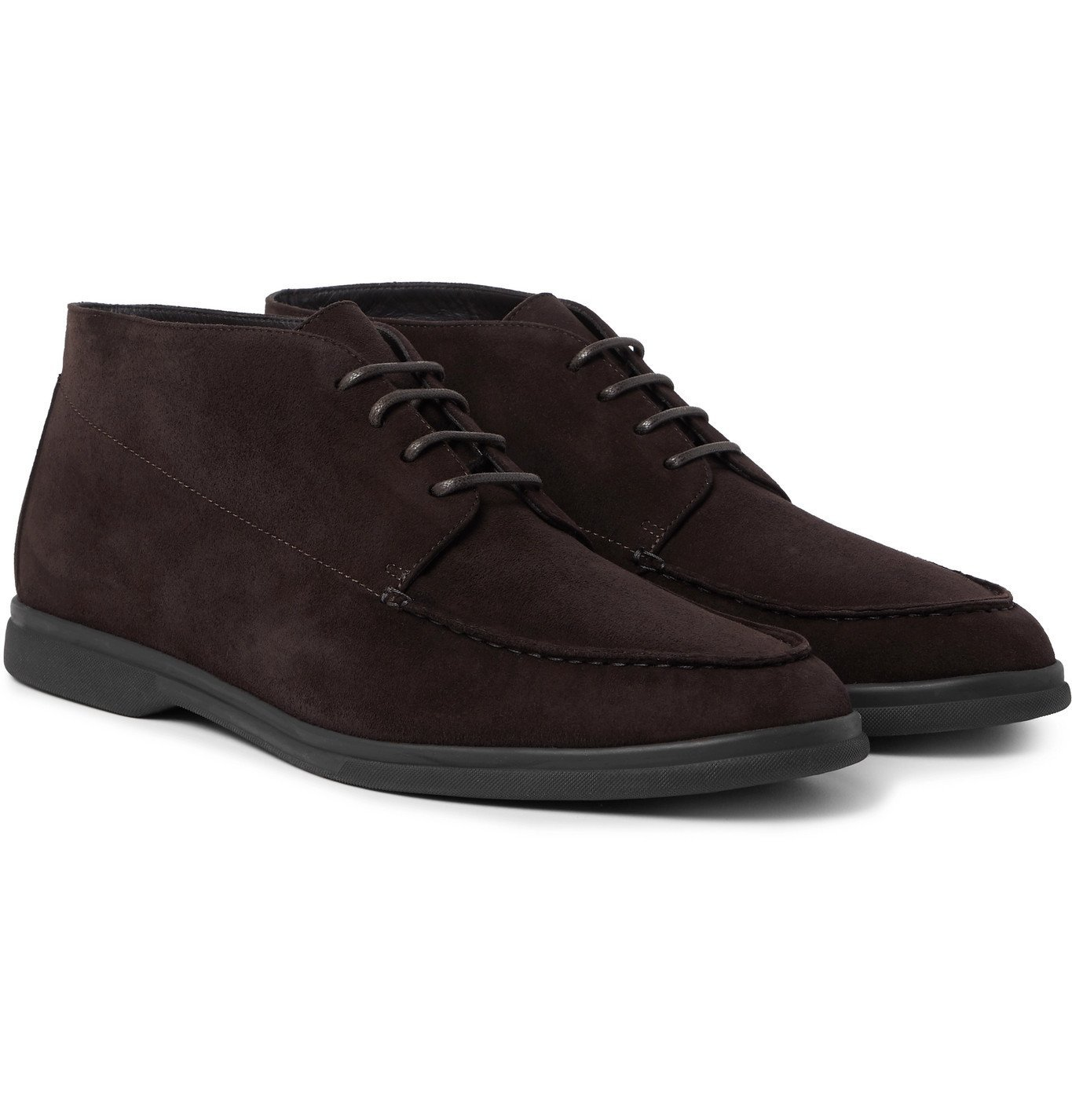 Photo: Canali - Suede Desert Boots - Brown
