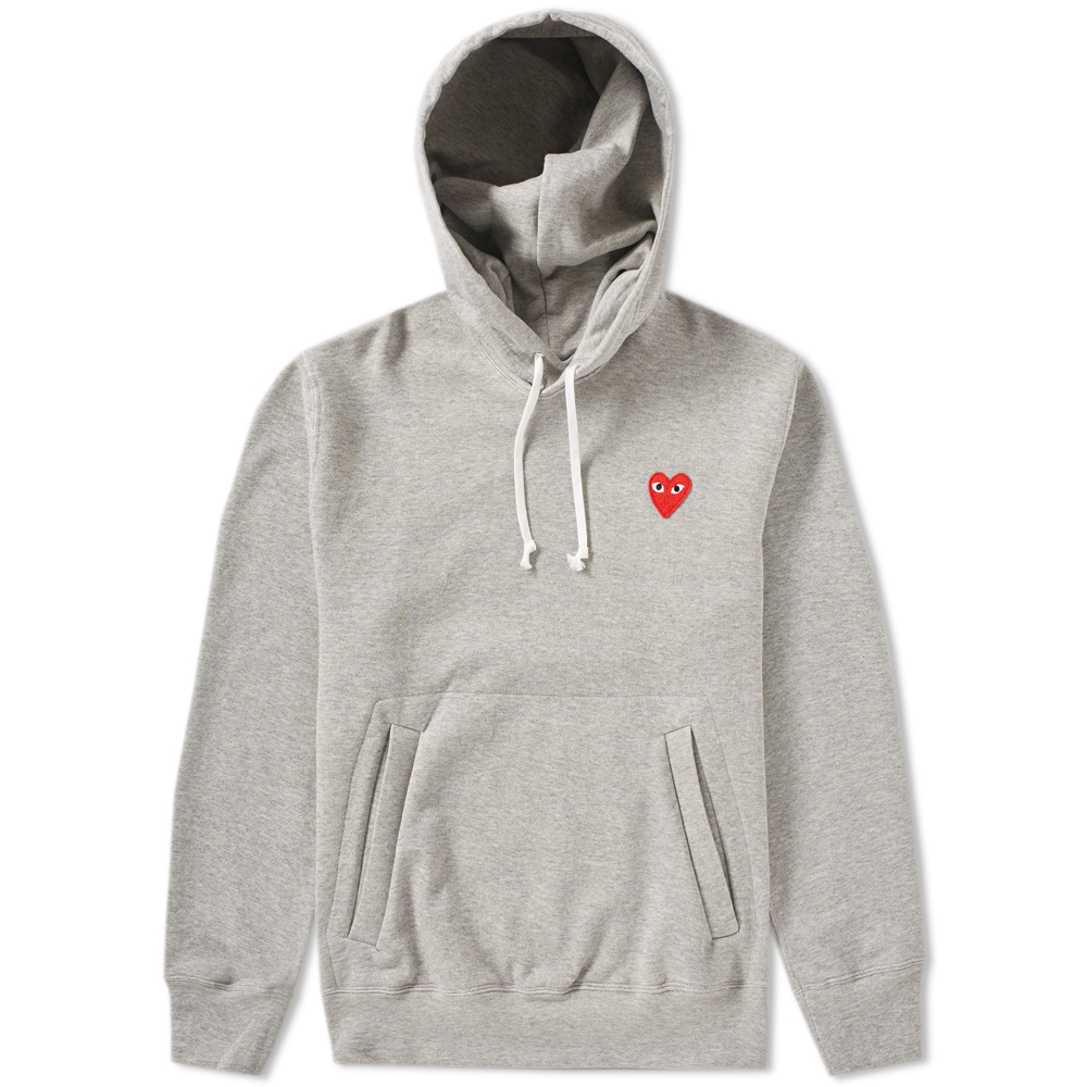 Photo: Comme des Garcons Play Pullover Hoody