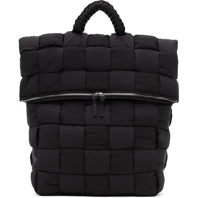 Photo: Bottega Veneta Black The Padded Backpack