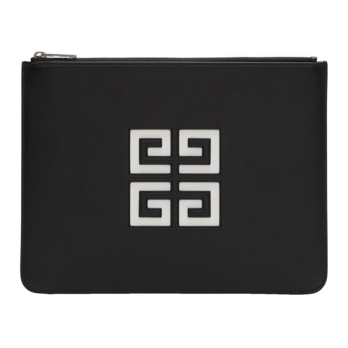 Photo: Givenchy Black Large 4G Zipped Pouch