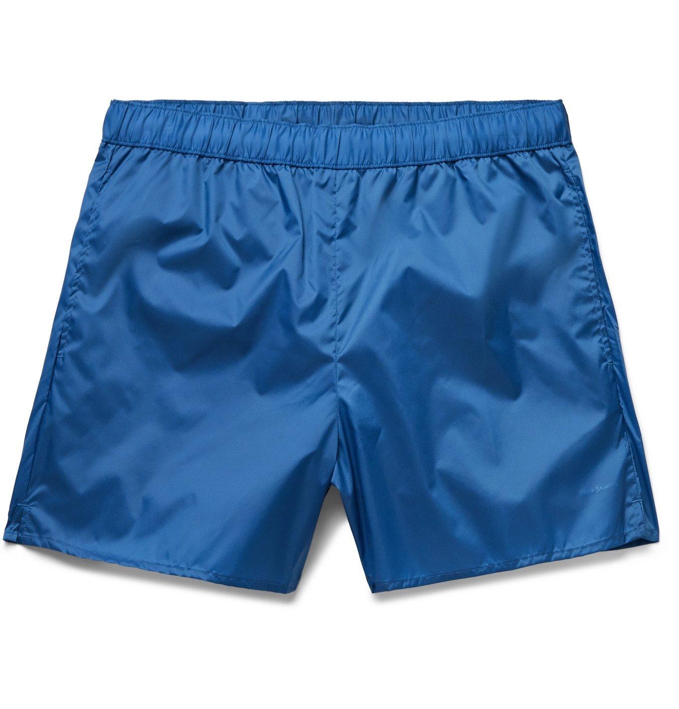 Photo: Acne Studios - Warrick Slim-Fit Mid-Length Swim Shorts - Blue