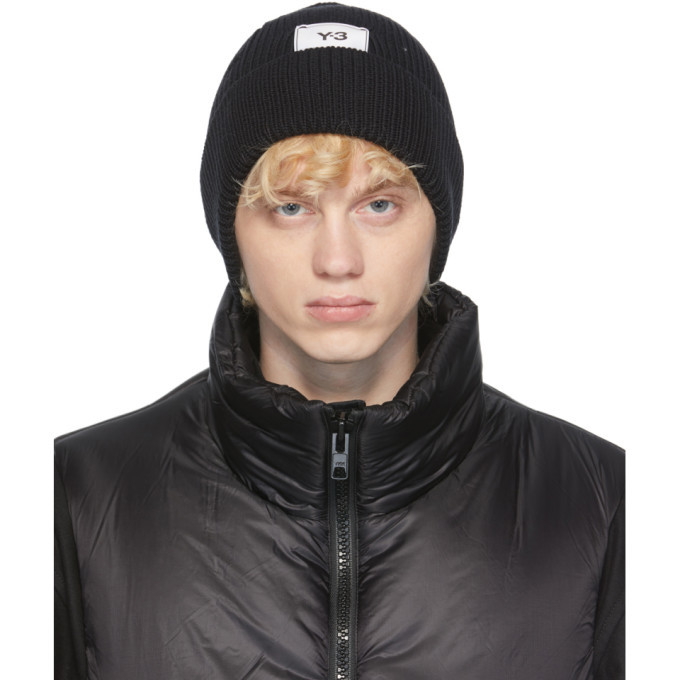 Photo: Y-3 Black Classic Beanie