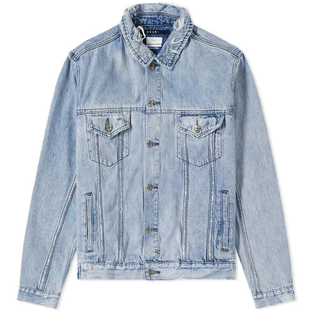 Ksubi Acid Trip Denim Jacket Blue