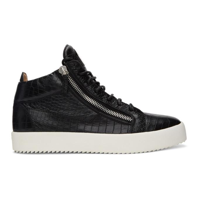 Photo: Giuseppe Zanotti Black Darwin May London Sneakers