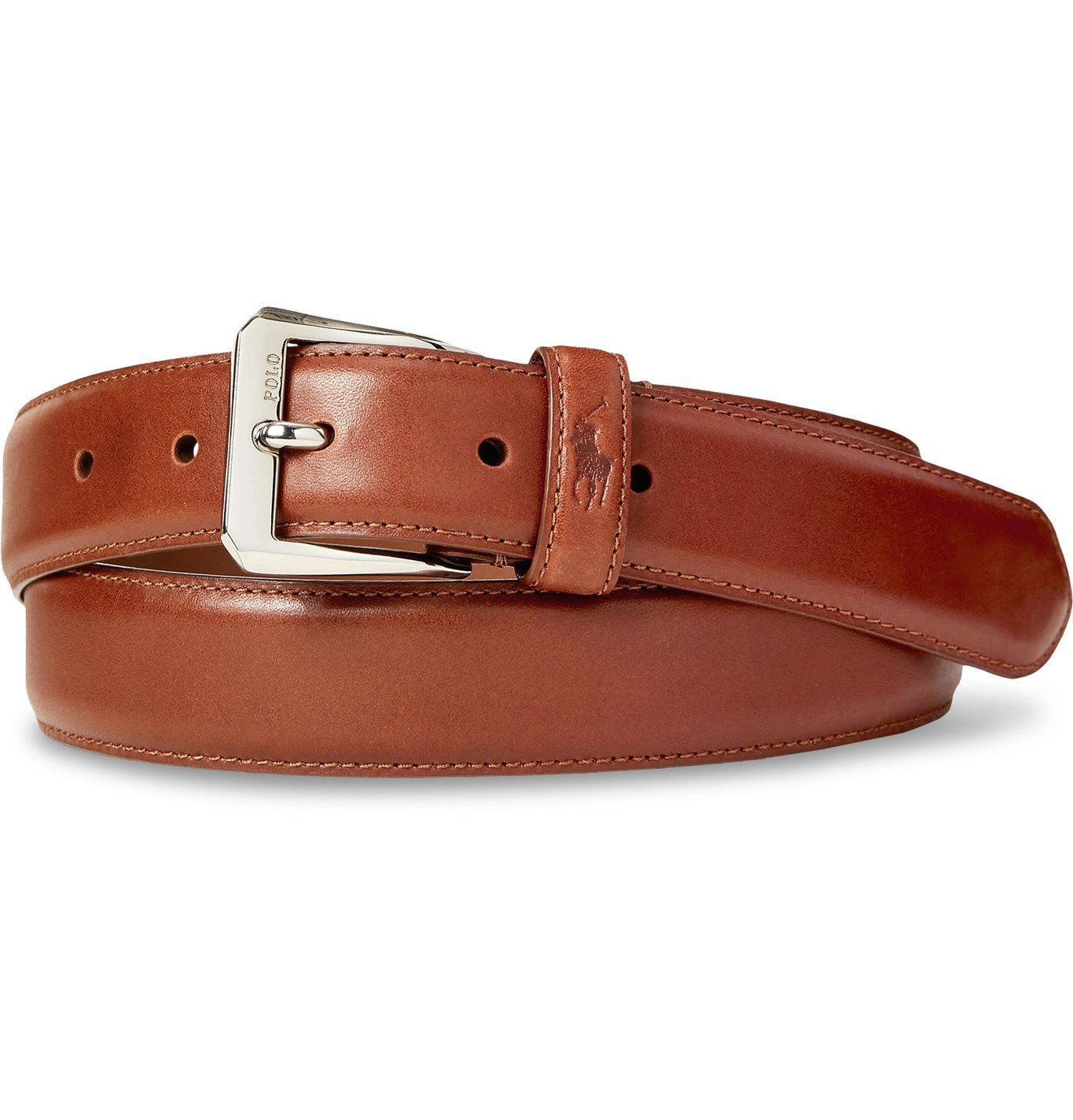 Photo: Polo Ralph Lauren - Leather Belt - Brown