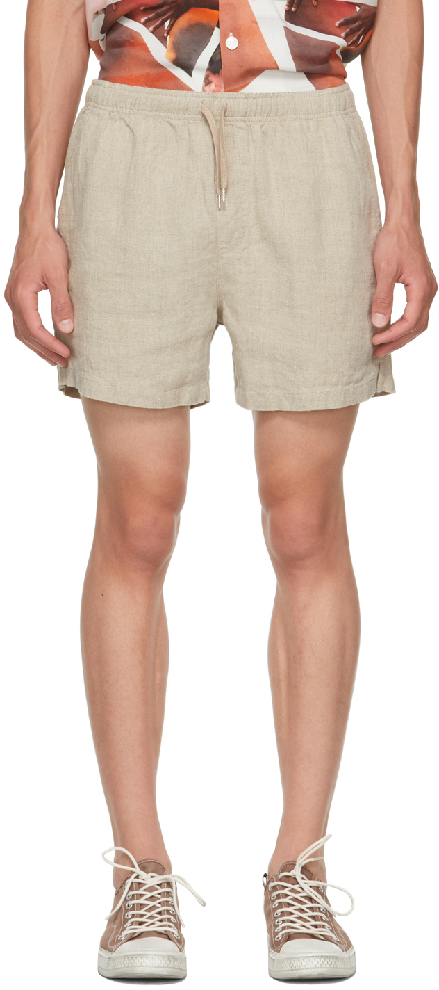 Photo: Schnayderman's Beige Linen Shorts
