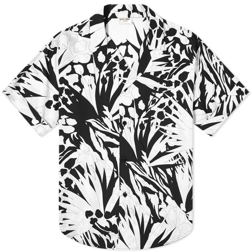 Photo: Saint Laurent Jungle Printed Vacation Shirt