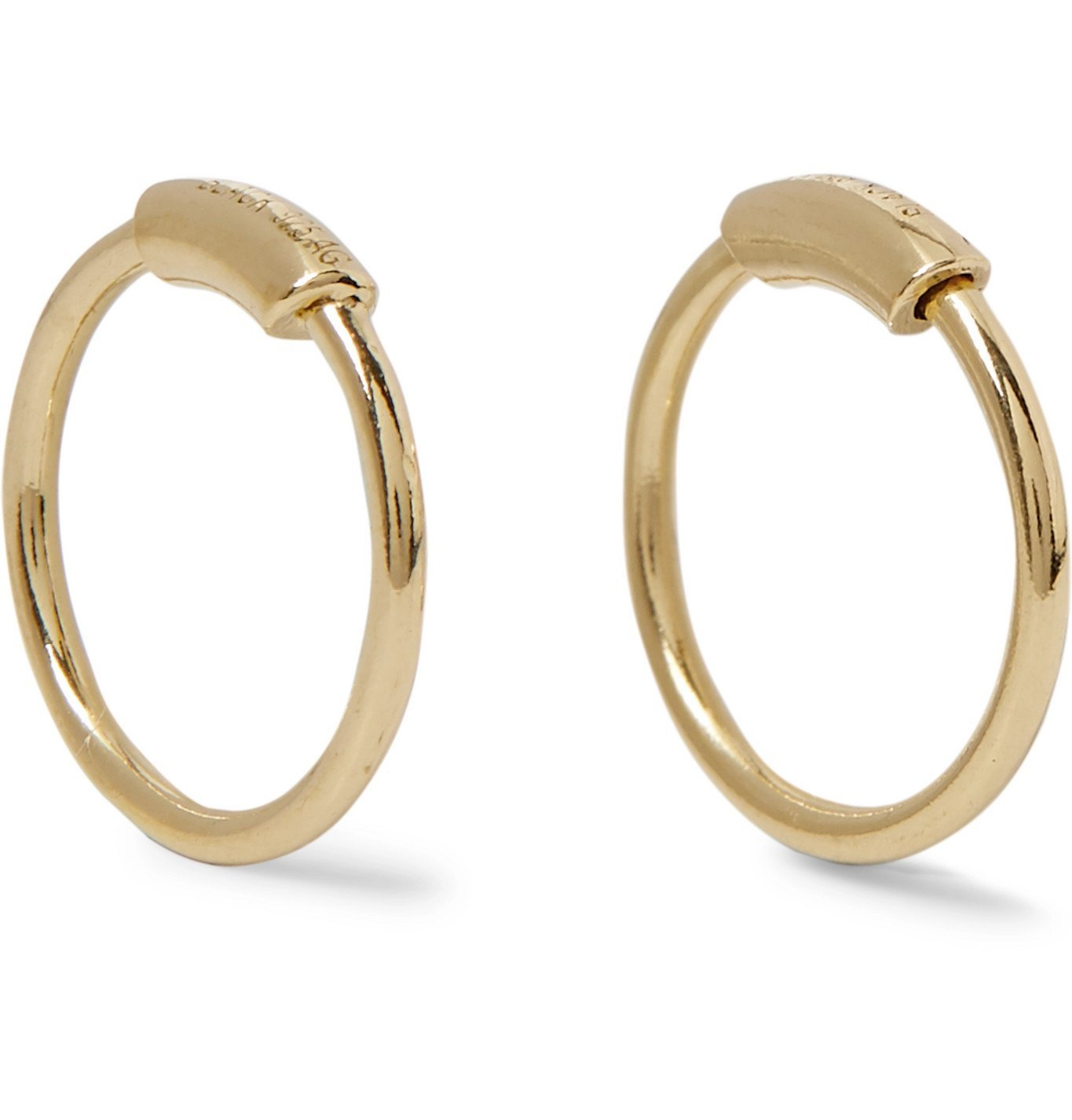 Photo: Maria Black - Gold-Plated Earrings - Gold