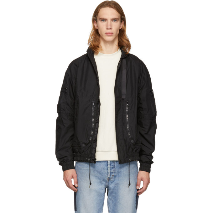 Photo: John Elliott Black Parachute Jacket