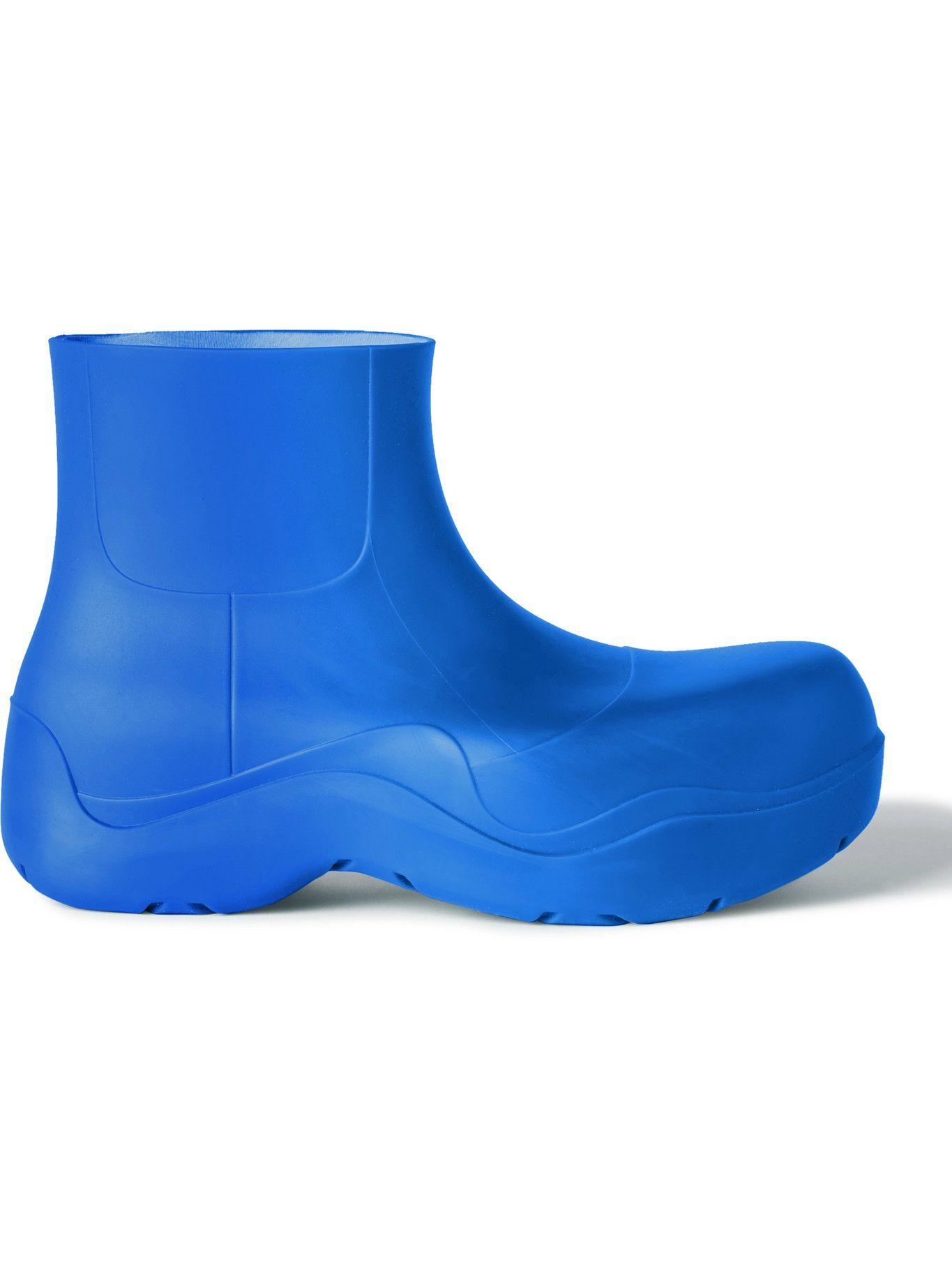 Bottega Veneta - Puddle Rubber Boots - Blue