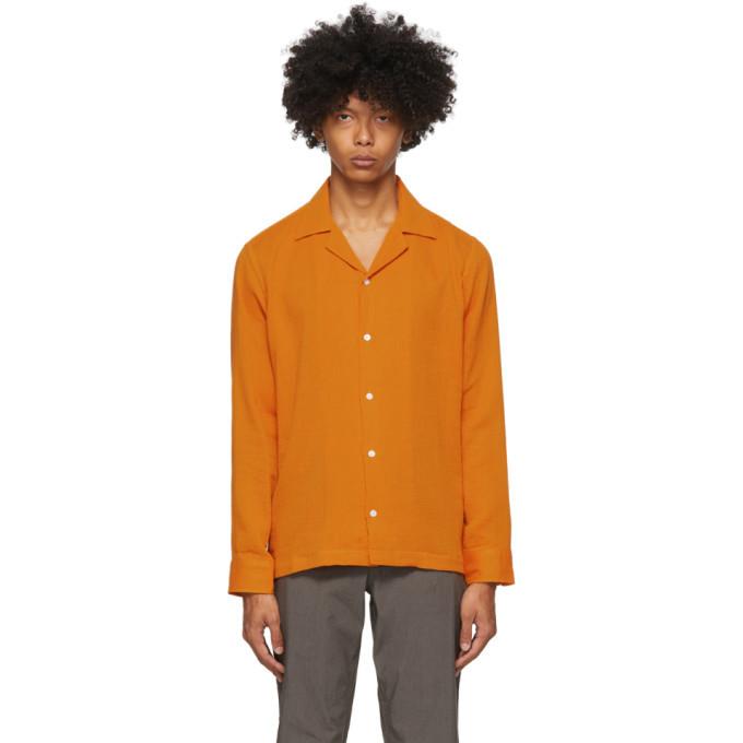Photo: Saturdays NYC Orange Marco Shirt