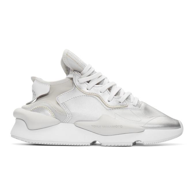 Photo: Y-3 Silver Kaiwa Sneakers