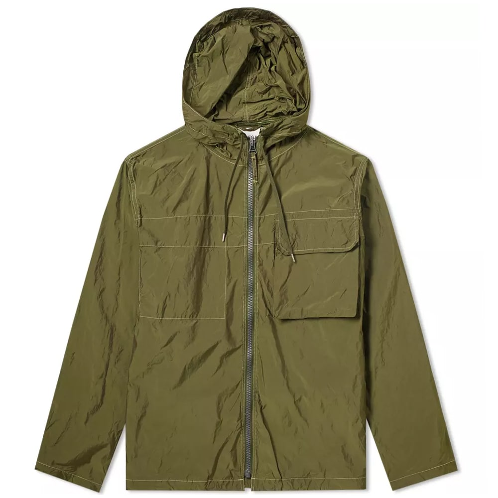 Photo: Our Legacy Cropped Lizard Parka