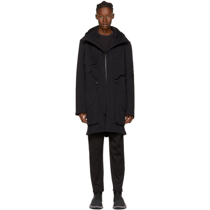 Photo: Y-3 Black Lux Future Sport Parka