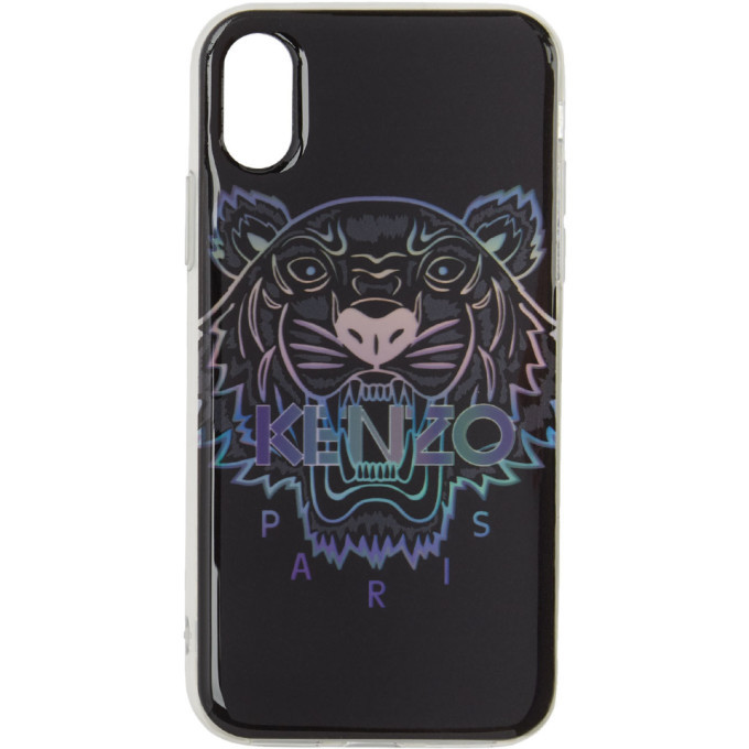 Photo: Kenzo Black Limited Edition Holiday Tiger iPhone XS Max Case