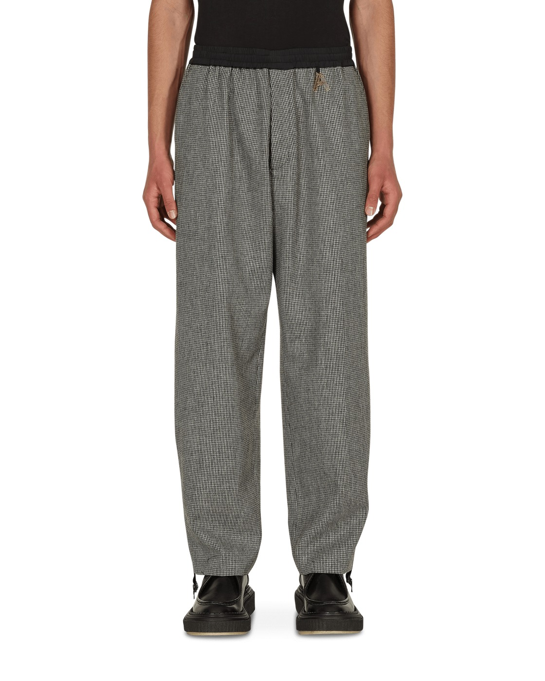 Photo: Aries Zip Detail Tailored Trousers Grey