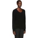 3.1 Phillip Lim Black Wool and Alpaca Sweater