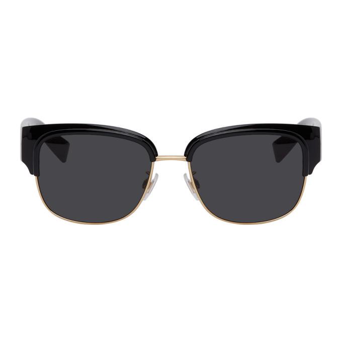 Photo: Dolce and Gabbana Black Viale Piave 2.1 Sunglasses