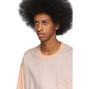 Acne Studios Pink Bla Konst Baseball Emrys T-Shirt