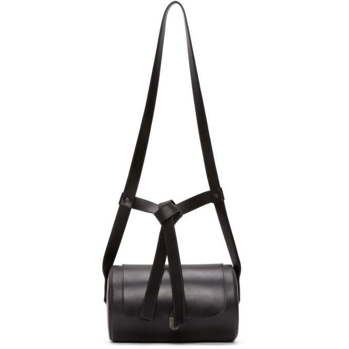 Photo: Cherevichkiotvichki Black Cylindrical Backpack