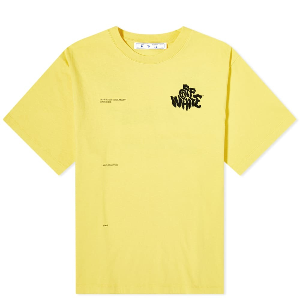 Photo: Off-White Off Blur Logo Over Tee