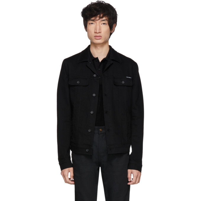 Photo: Dolce and Gabbana Black Denim Jacket