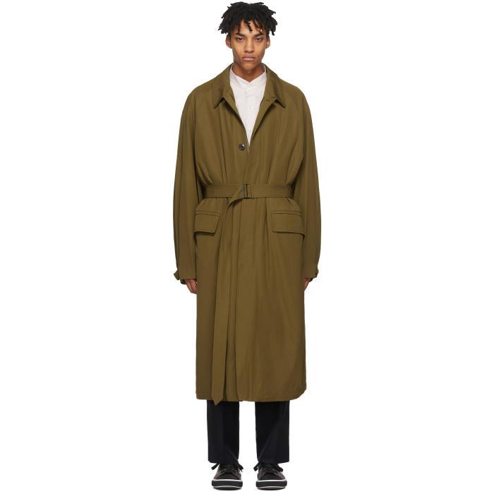Photo: Lemaire Tan The Great Raincoat Coat