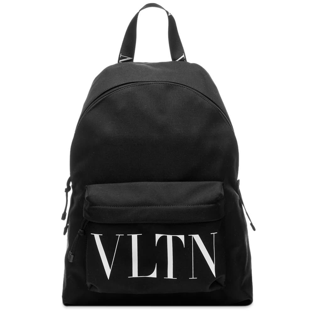 Photo: Valentino VLTN Logo Nylon Backpack