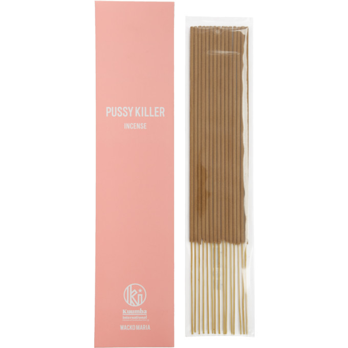 Photo: Wacko Maria Pink Kuumba Edition Pussy Killer Incense Stick Set