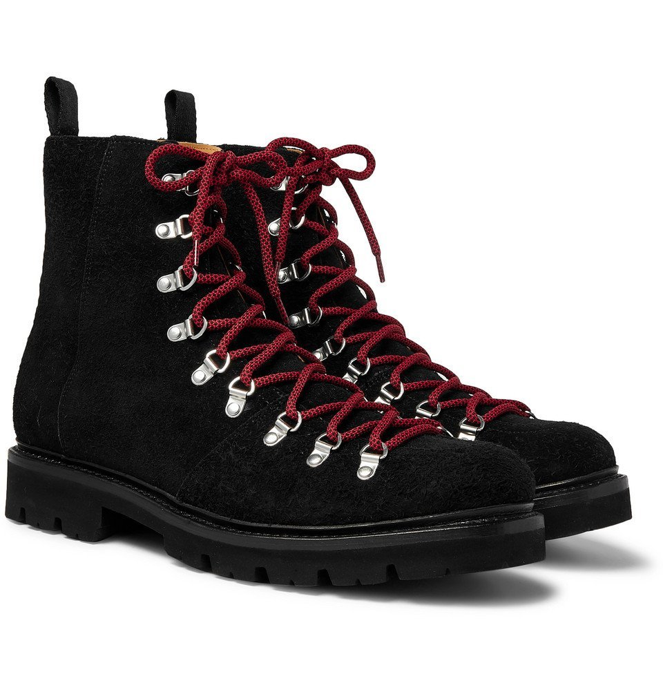 Photo: Grenson - Brady Suede Boots - Black