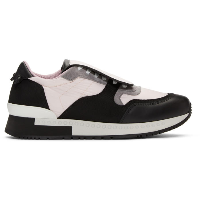 Photo: Givenchy Pink and Black Active Runner Sneakers