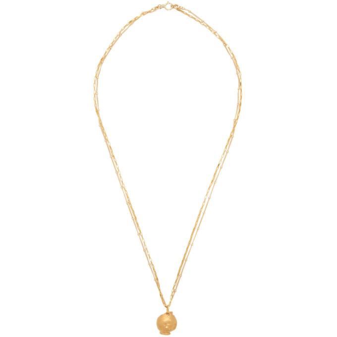 Alighieri Gold The Unreasonable Imagination Necklace