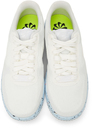 Nike White Air Force 1 Crater Flyknit Sneakers